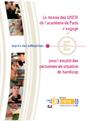 Télécharger le guide ''Le réseau de la formation continue de l'académie de Paris s'engage pour l'emploi des personnes en situation de handicap''